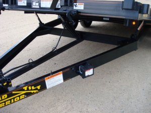 35 Ton Car Hauler Tilt Bed Trailer  Johnson Trailer Co