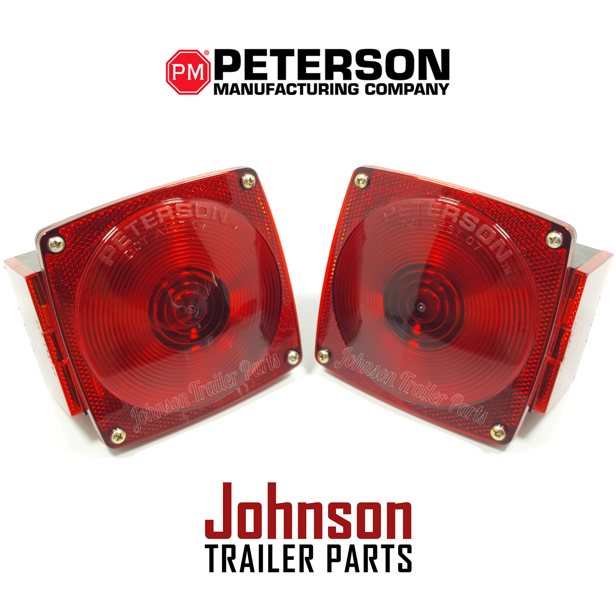 peterson trailer lights wiring diagram square d hand off auto pair of tail pm 440 440l stop turn