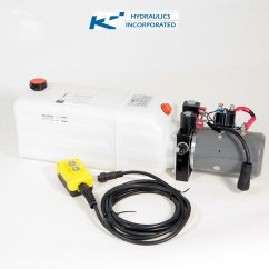 Kti Hydraulic Pump Wiring Diagram Rv Inverter 8 Quart 12v Double Acting