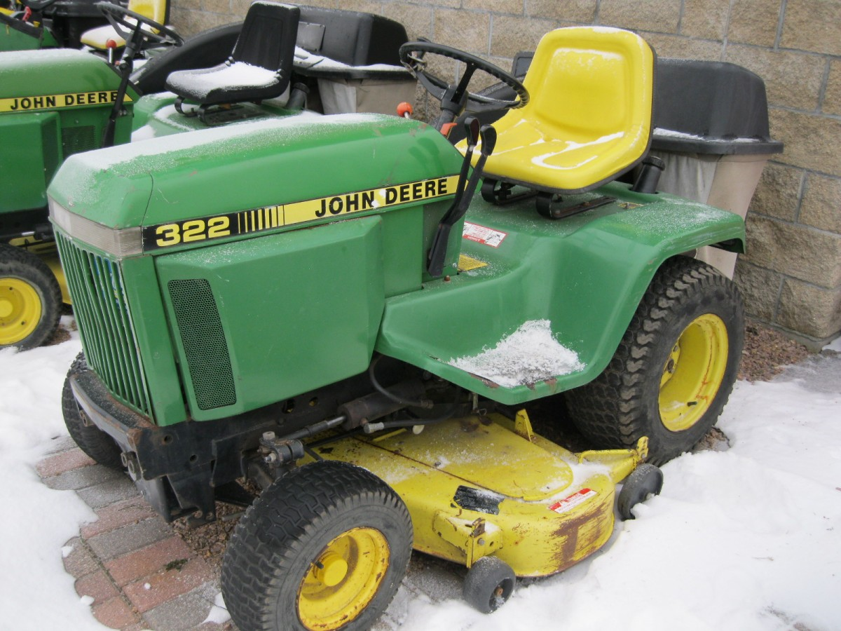John Deere 322 Mower Parts