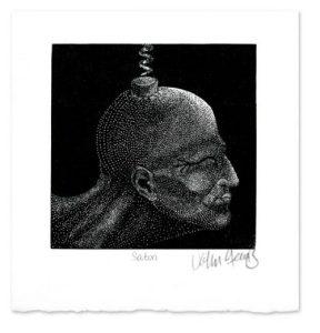 Satori ~ wood engraving ~ John Steins