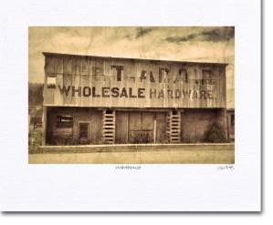 Dawson City warehouse