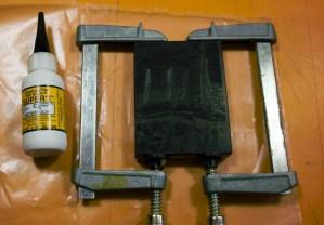 wood engraving block repair
