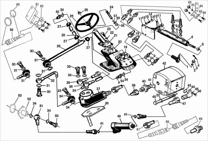 Colored Wiring Diagram For Jinma 284 Tractor : 44 Wiring