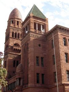 The Bexar County Courthouse