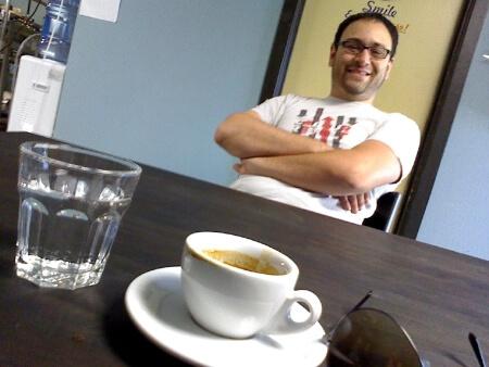 Aaron Blanco, owner of Brown Coffee Co.