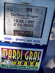 Times-Picayune Newspaper, photo by CanadaGood on Flickr