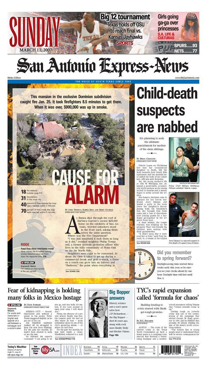 Cause for alarm: Fire response times lag in San Antonio