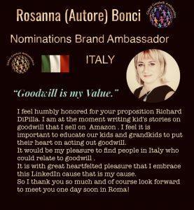 Rosanna Bonci - our Italy chair