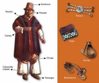 Gaucho's clothes and kit