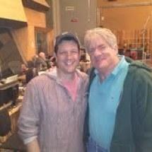 Michael Giacchino and John Van Houten