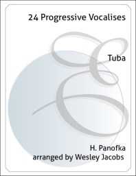24 Progressive Vocalises for Tuba
