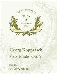 Sixty Etudes Op. 5 for Tuba
