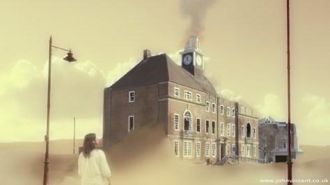 """""""A Beacon In Dystopia"""", HD Video still, 2014"""