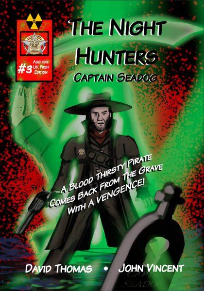 The Night Hunters Issue 3 Cover, © WP Comics Ltd