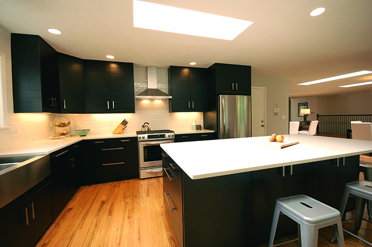 ikea kitchen remodel smudge proof stainless steel appliances general contractors remodeling portland or modern oregon