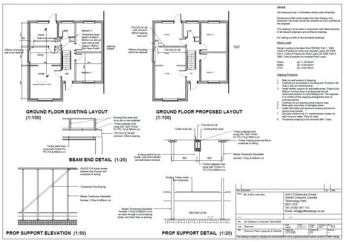 How much does it cost to knock down a load bearing wall