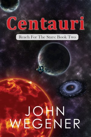 Science Fiction Centauri Book Cover Image