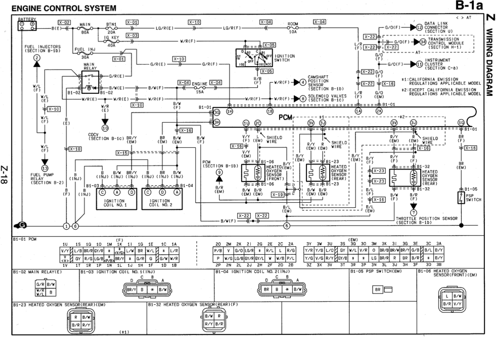 2000 Mazda Miata Engine Wiring Harness : 38 Wiring Diagram