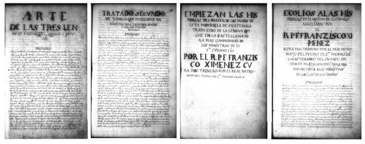 Figure 11 - Internal title pages of Ayer ms 1515