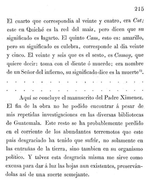 Figure 13 - Penultimate page of Scherzer's edition