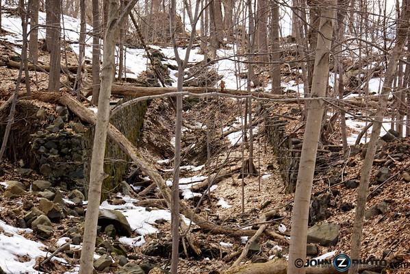 Rock Walls at Rockland Lake NY