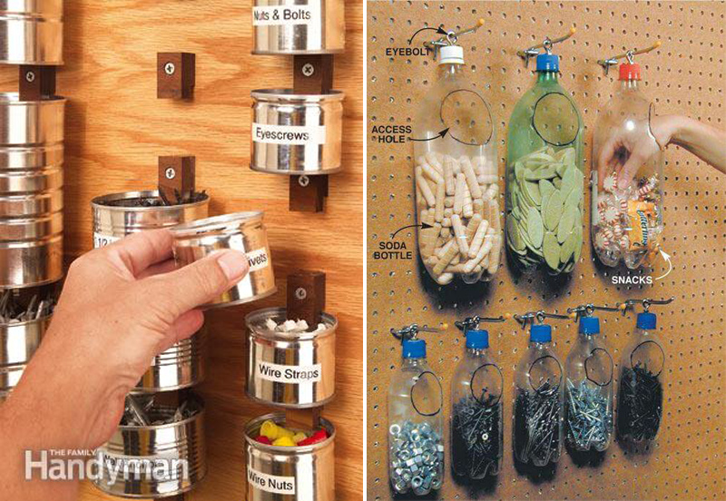 Ideias para organizar ferramentas  Joia de Casa