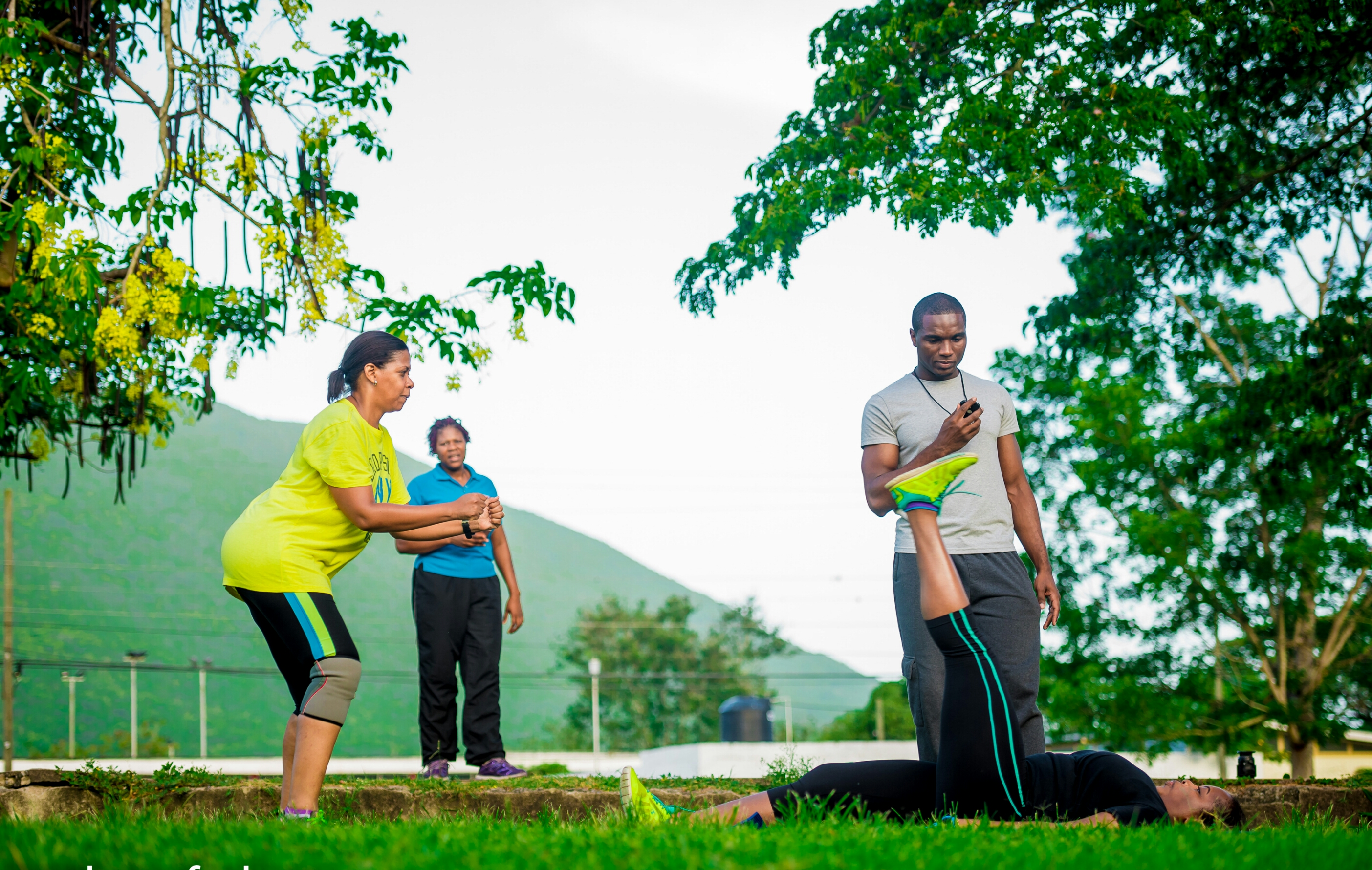 Group Personal Fitness Training