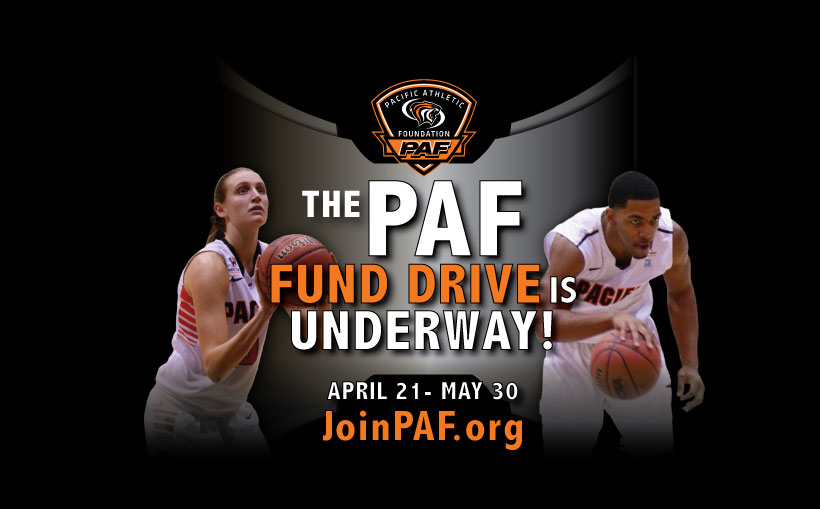 pacific athletic fund drive