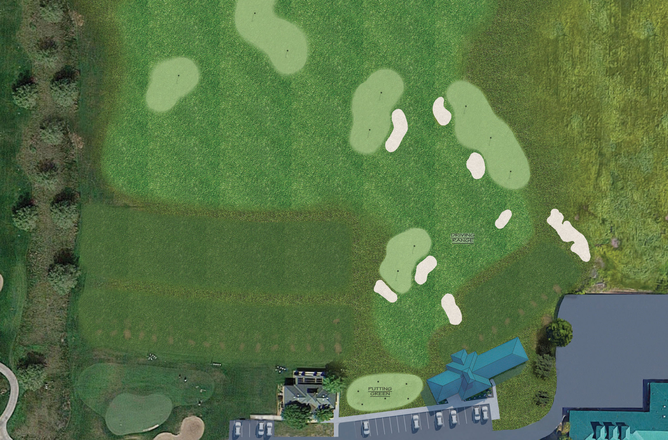 Golf Training Facility Course