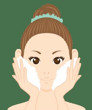 毛穴詰まりと角栓は毎日の洗顔で