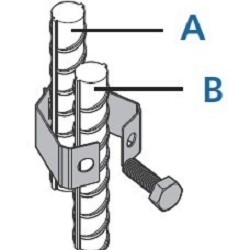 Rebar to Rebar Connecting Clip