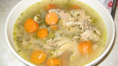 chicken bone broth soup glucosamine