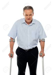 Crutches joint wrist pain