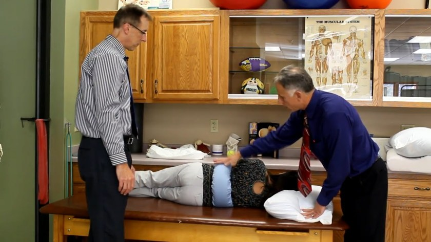 hip cushion with doctors