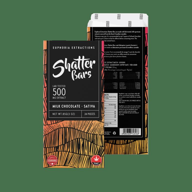Milk Chocolate Sativa 500mg
