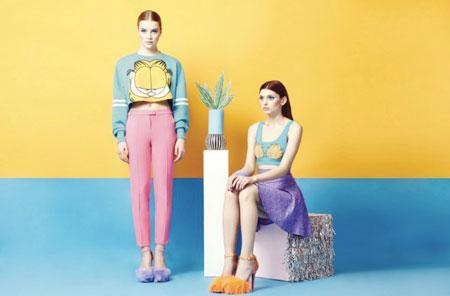 garfield moda