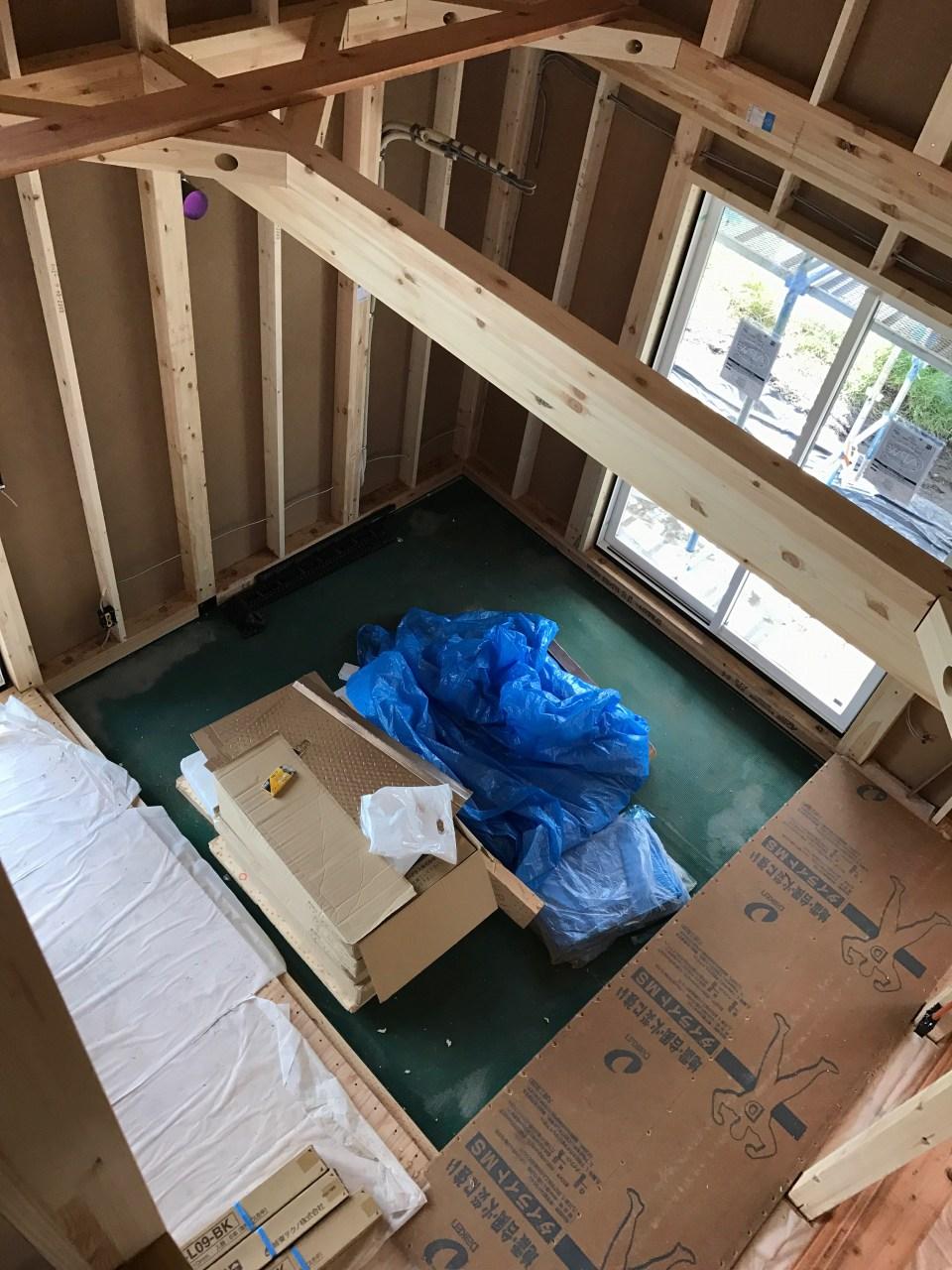 建て方完了|平屋+αLOAFER[ローファー]|栃木県芳賀町