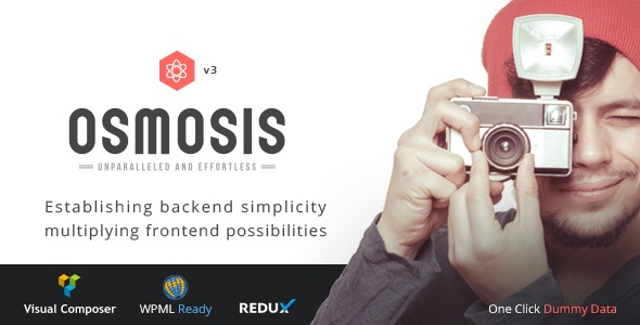 Osmosis – Responsive Multi-Purpose Theme v3.8.1