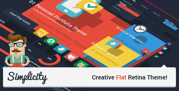 Simplicity - Creative Flat Retina Theme v1.7.2