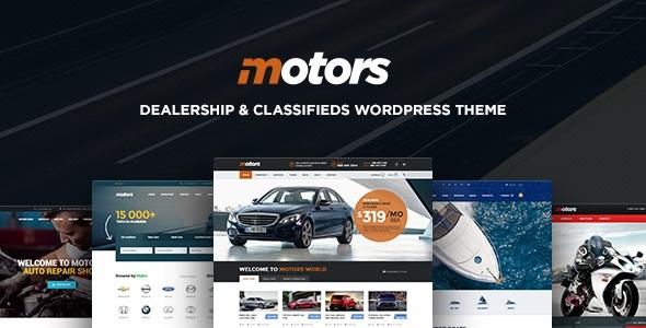 Motors - Car Dealership WordPress Theme v3.5.1