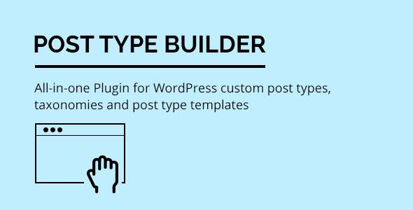 Post Type Builder - WordPress Custom Post Types v1.4.1