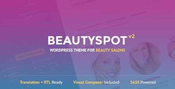 BeautySpot - WordPress Theme for Beauty Salons v2.4.4