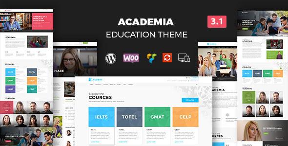 Academia – Education Center WordPress Theme v4.0