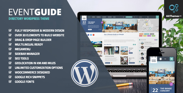 Event Guide v2.22 - Ultimate Directory Listing Theme