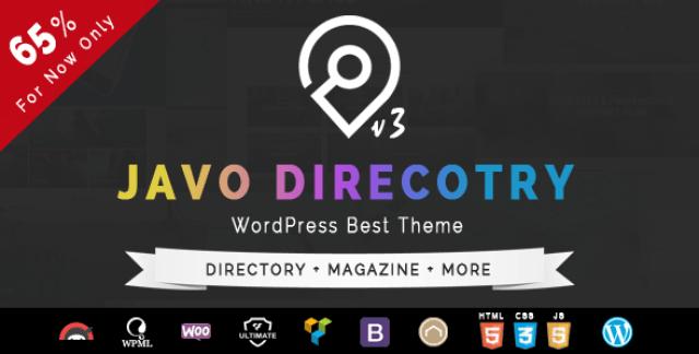 Javo Directory WordPress Theme v3.1.5