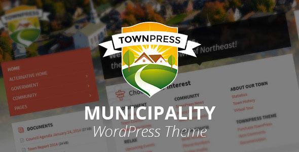 TownPress - Municipality WordPress Theme v1.6.0
