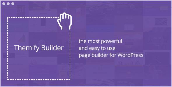 Themify Builder v4.0.1 - Drag & Drop WordPress Plugin