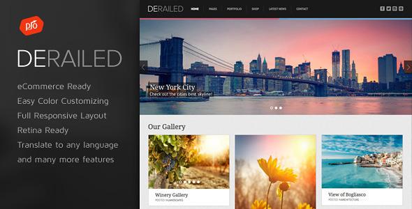 DeRailed v2.6 - ThemeForest Photography & Portfolio Theme