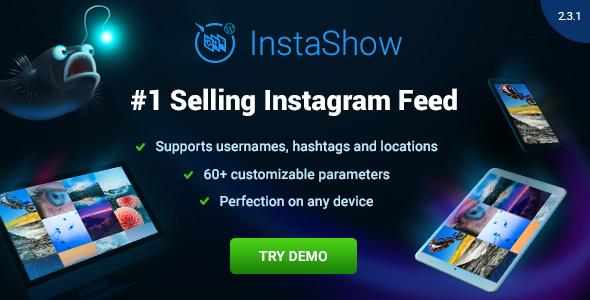InstaShow – Instagram Feed for WordPress v2.3.2